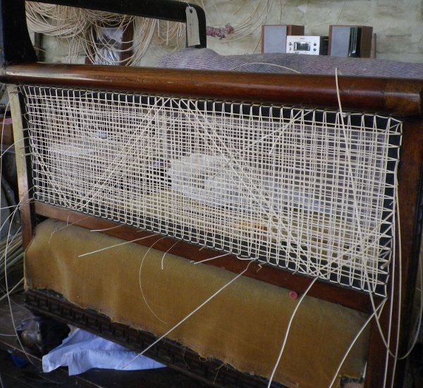 Bergere Chair Cane Arm Panel